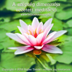 A szépség dimenziója vezetett meditáció